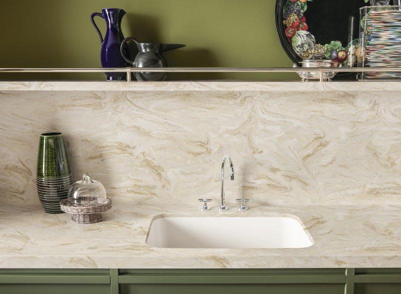 Corian Arbeitsplatte küchenarbeitsplatten aus corian® - corian® solid surfaces, corian®